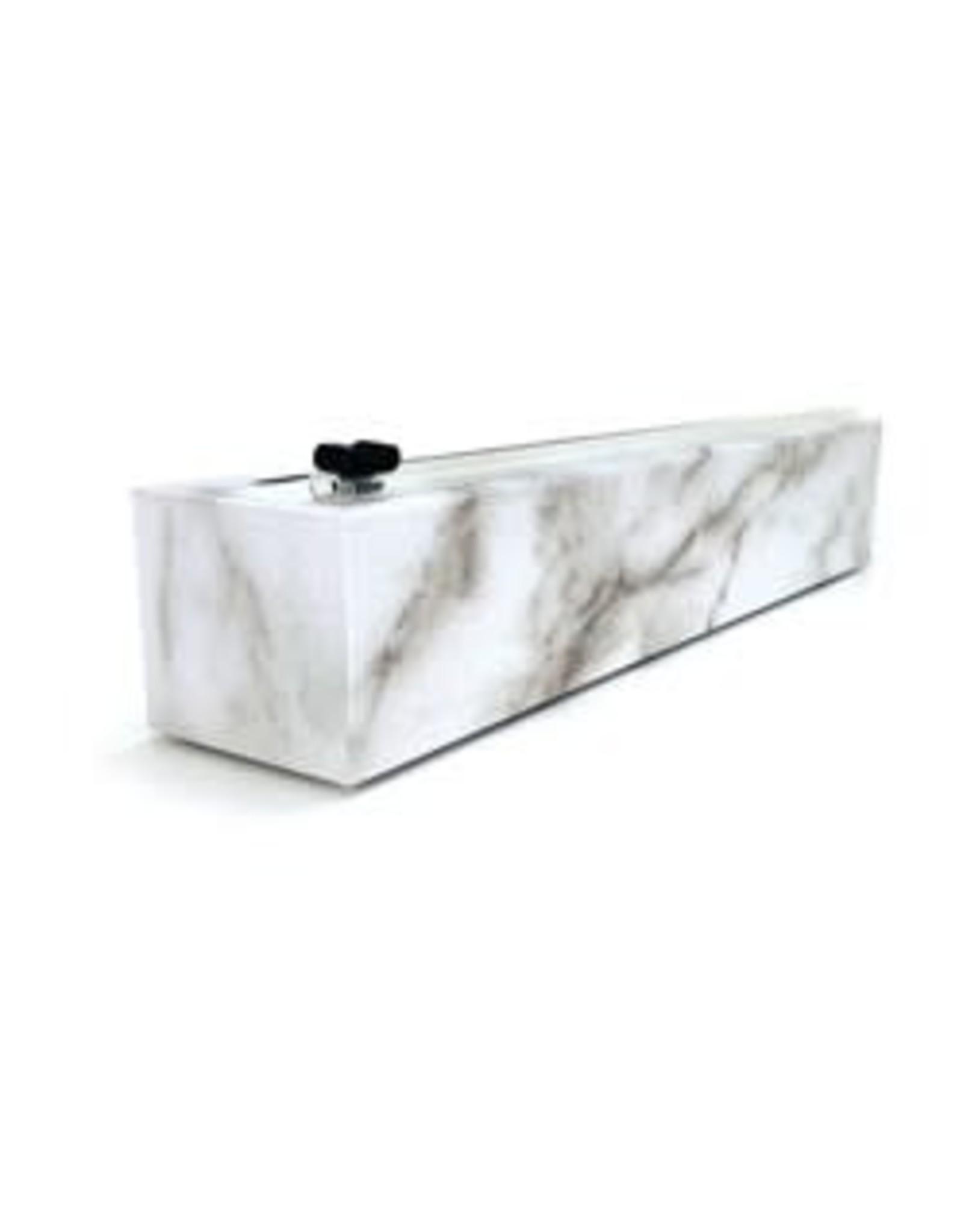 "CHICWRAP-Dispenser Carrara Marble Plastic Wrap 12"" x 250'"