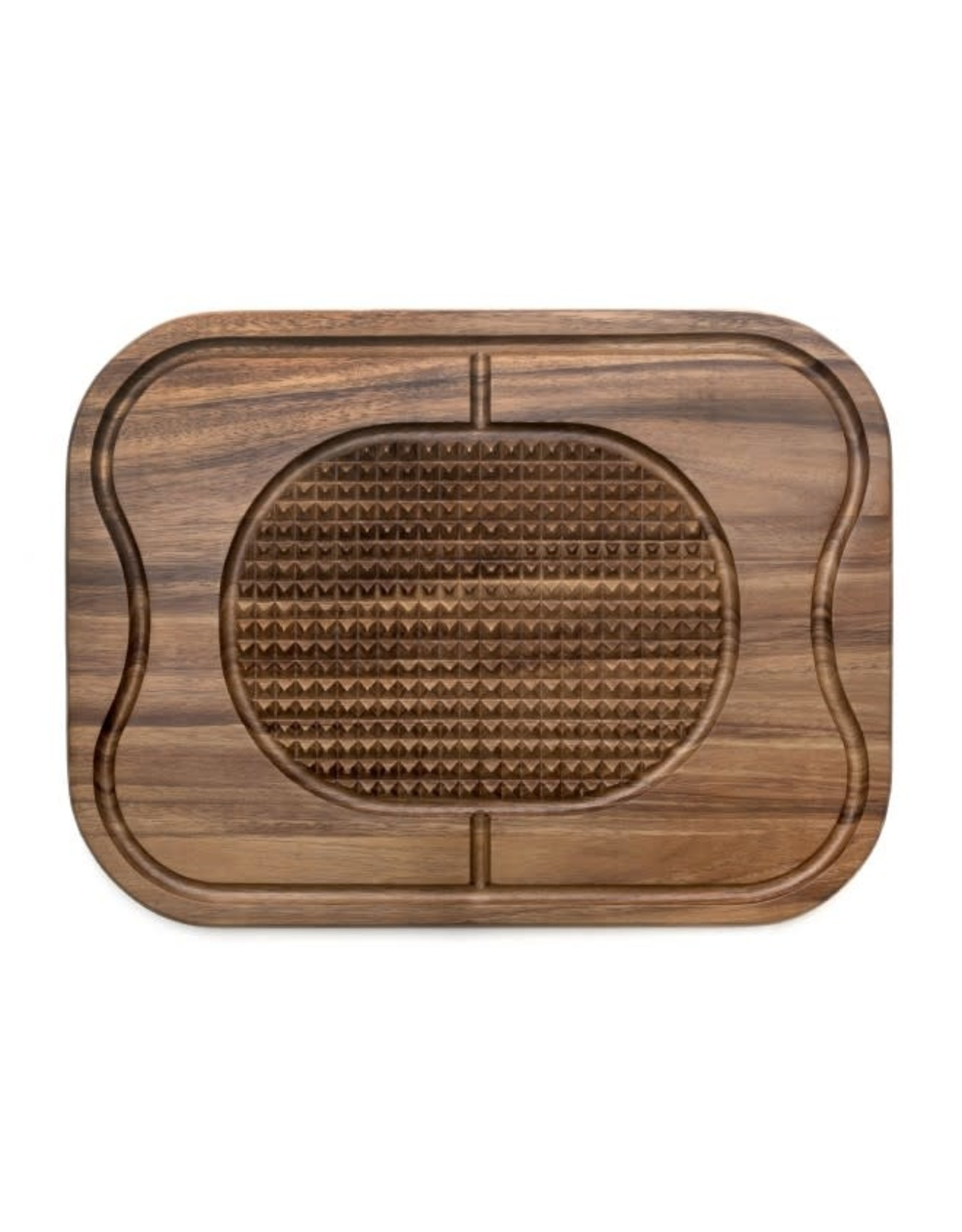 Lipper LIPPER-Acacia Carving Board with Grid Grip