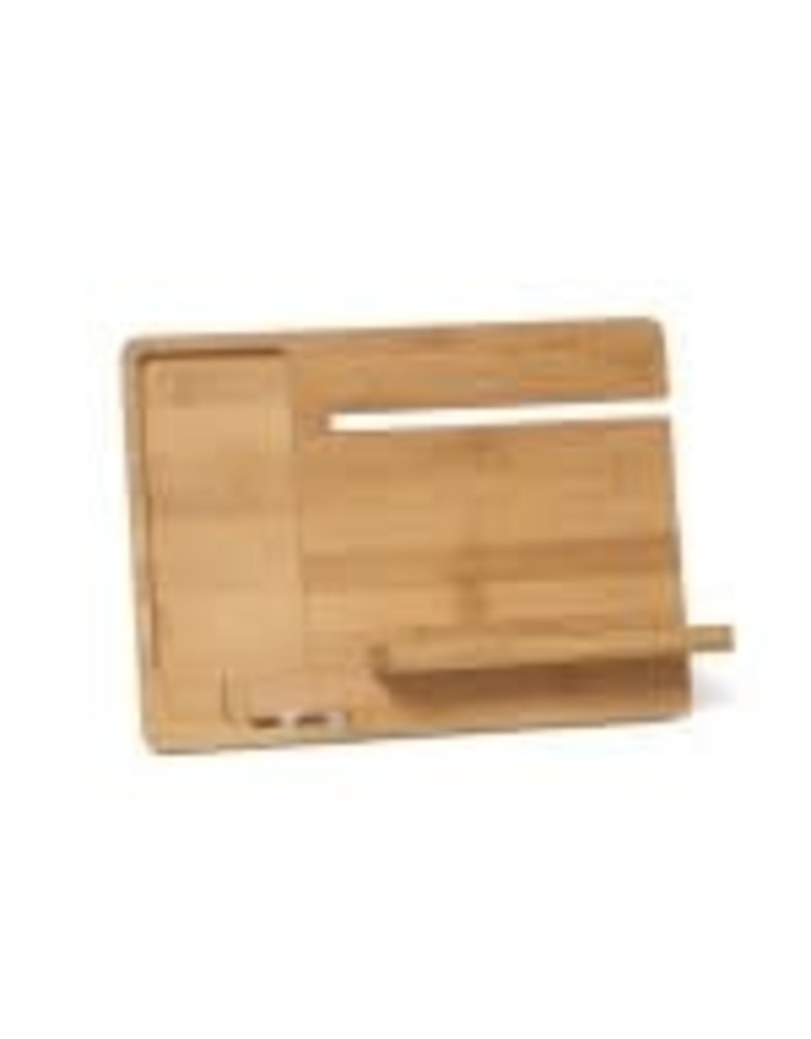 Lipper LIPPER-Bamboo Smartphone & Watch Stand