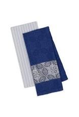 Design Imports DI Starflakes Dish Towel set of 2