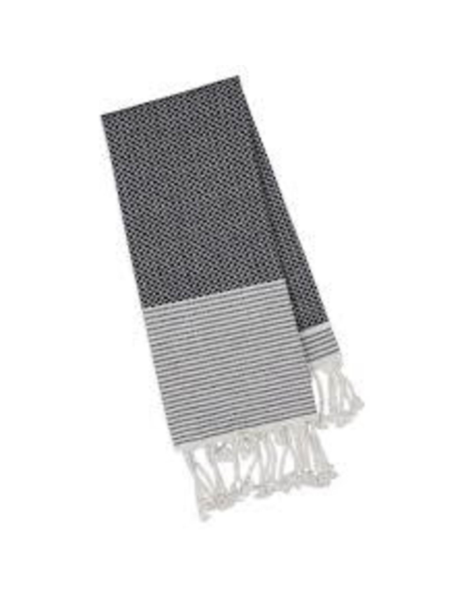 Design Imports DI Black Diamond Small Fouta Towel