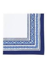 Design Imports DI Porto Blue Printed Napkin