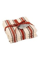 Design Imports DI Holiday Stripe Dishtowel Set of 3