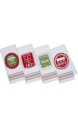 Design Imports DI Sassy Santa Printed Towel