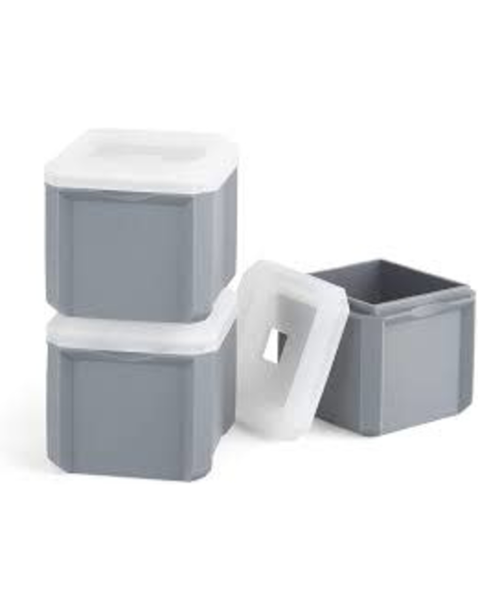 Final Touch - Stackable Extra-Large Ice Moulds x3