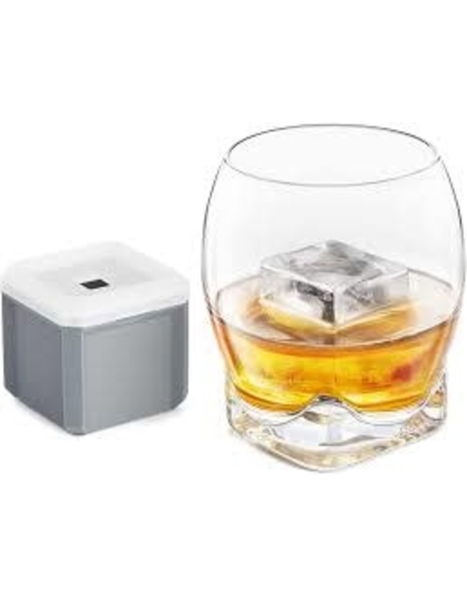 Final Touch- Colossal Ice Cube Whiskey Glass