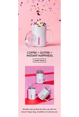Corkcicle CORKCICLE 16oz Mug Sparkle Unicorn Magic