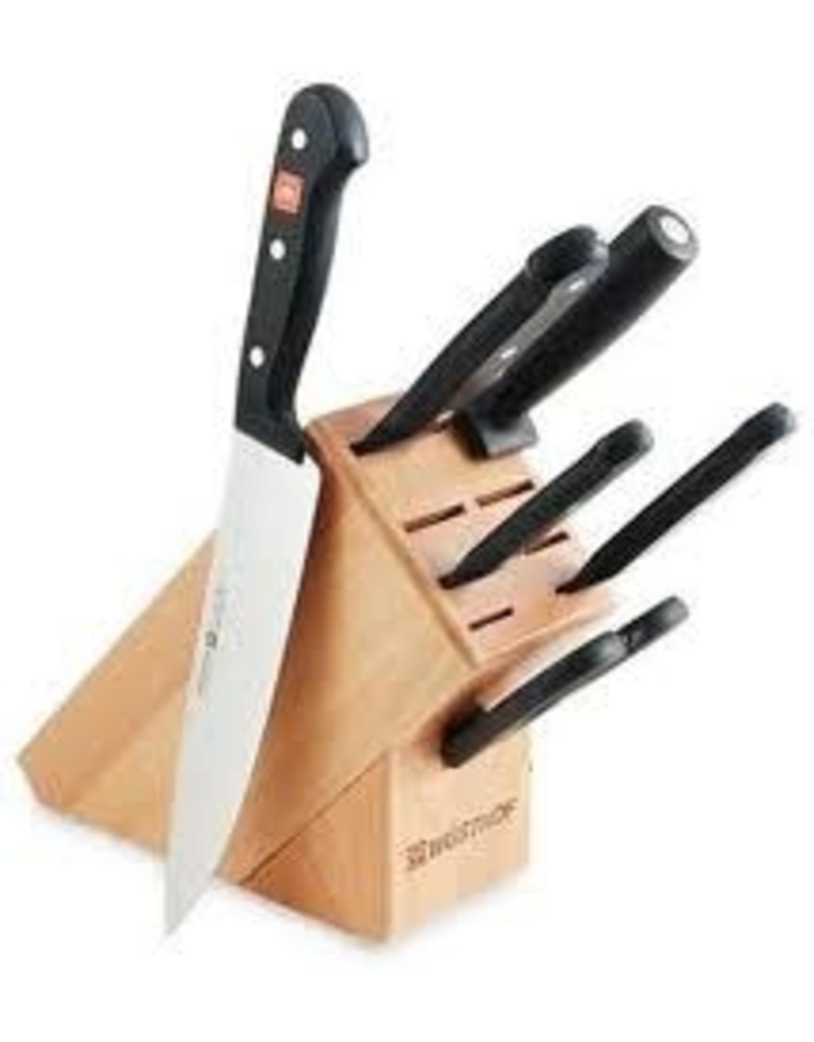 Wusthoff WUSTHOFF  7pc Knife Block Set