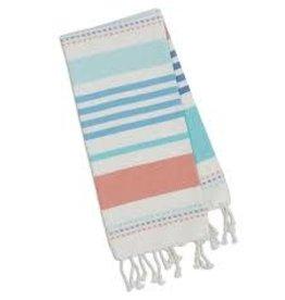 Design Imports DI Atlantis Stripe Fouta Towel Small