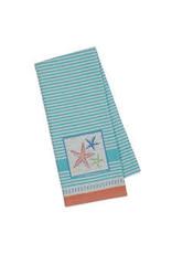 Design Imports DI-Sea Stars Embellished Dishtowel