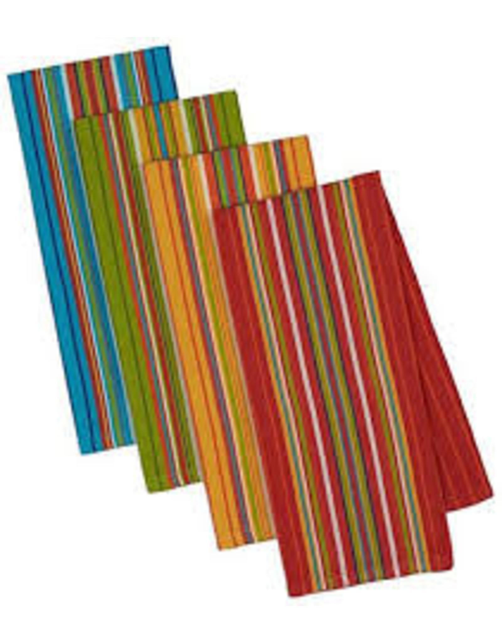Design Imports DI-Cantina Stripes Dishtowel Set of 4