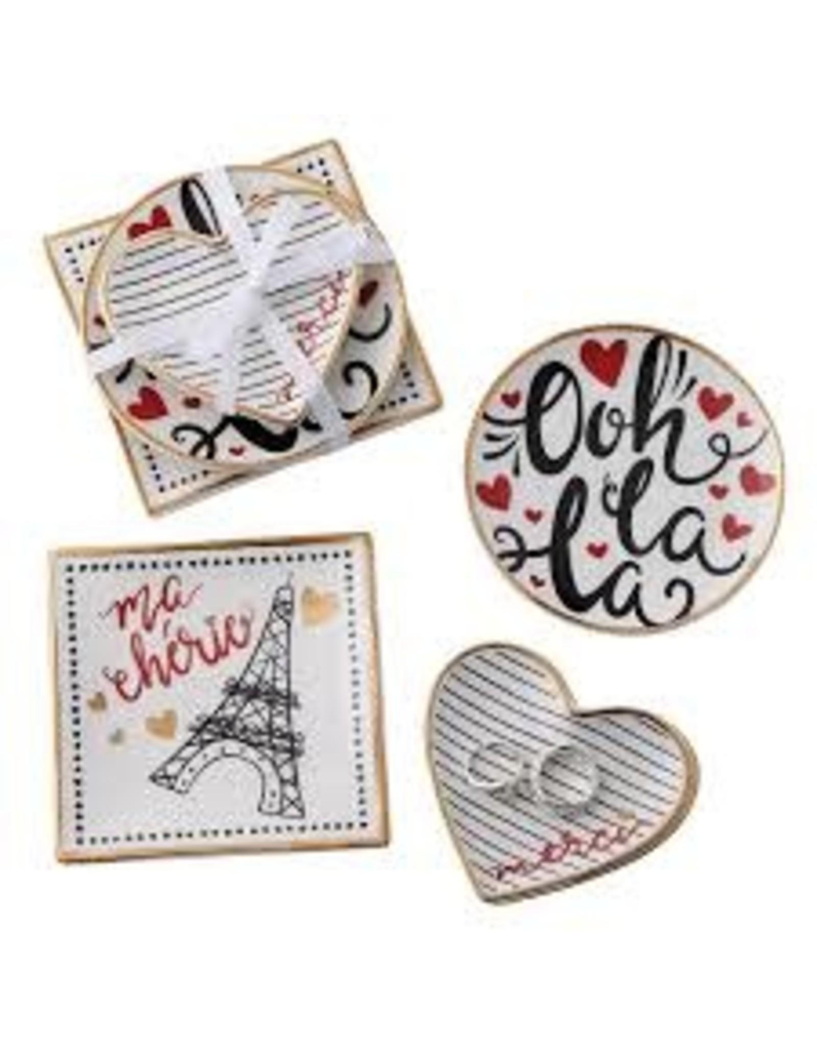 Design Imports DI-I Love Paris Catchall Set