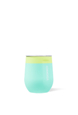 Corkcicle CORKCICLE-Stemless - 12oz Color Block Limeade