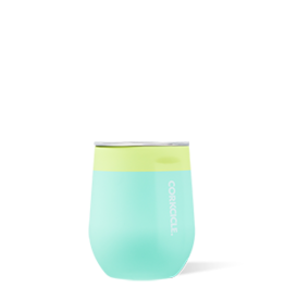 Corkcicle CORKCICLE-Stemless - 12oz Color Block Limeade
