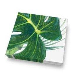 "TarHong TarHong- 20pk Palm Tree  Napkins, 13"" x 13"""