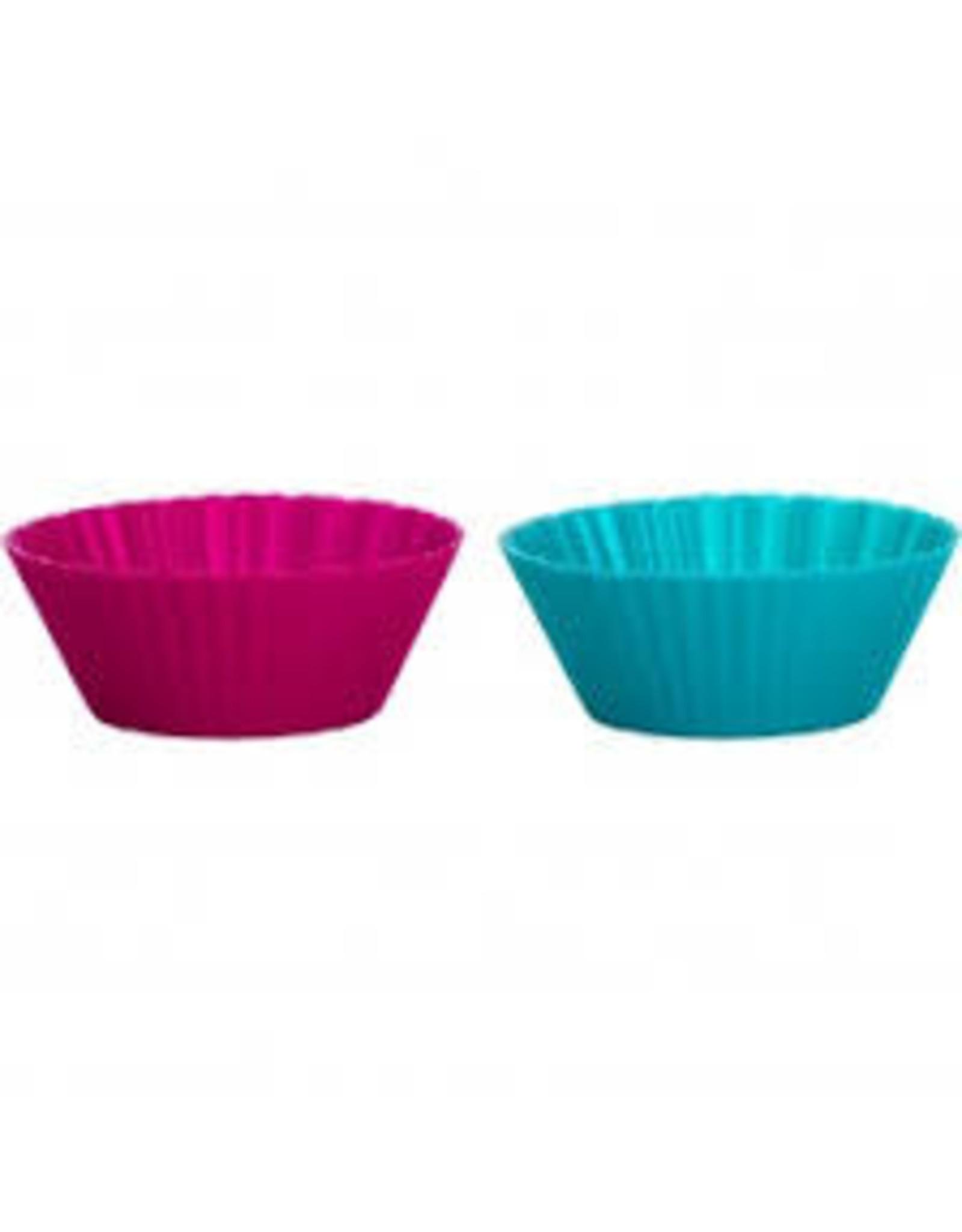 TRUD Mini Muffin Cups Fuchia/Tropical
