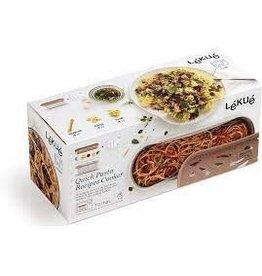 Lekue LEKUE Quick Pasta Recipes Cooker Terracota