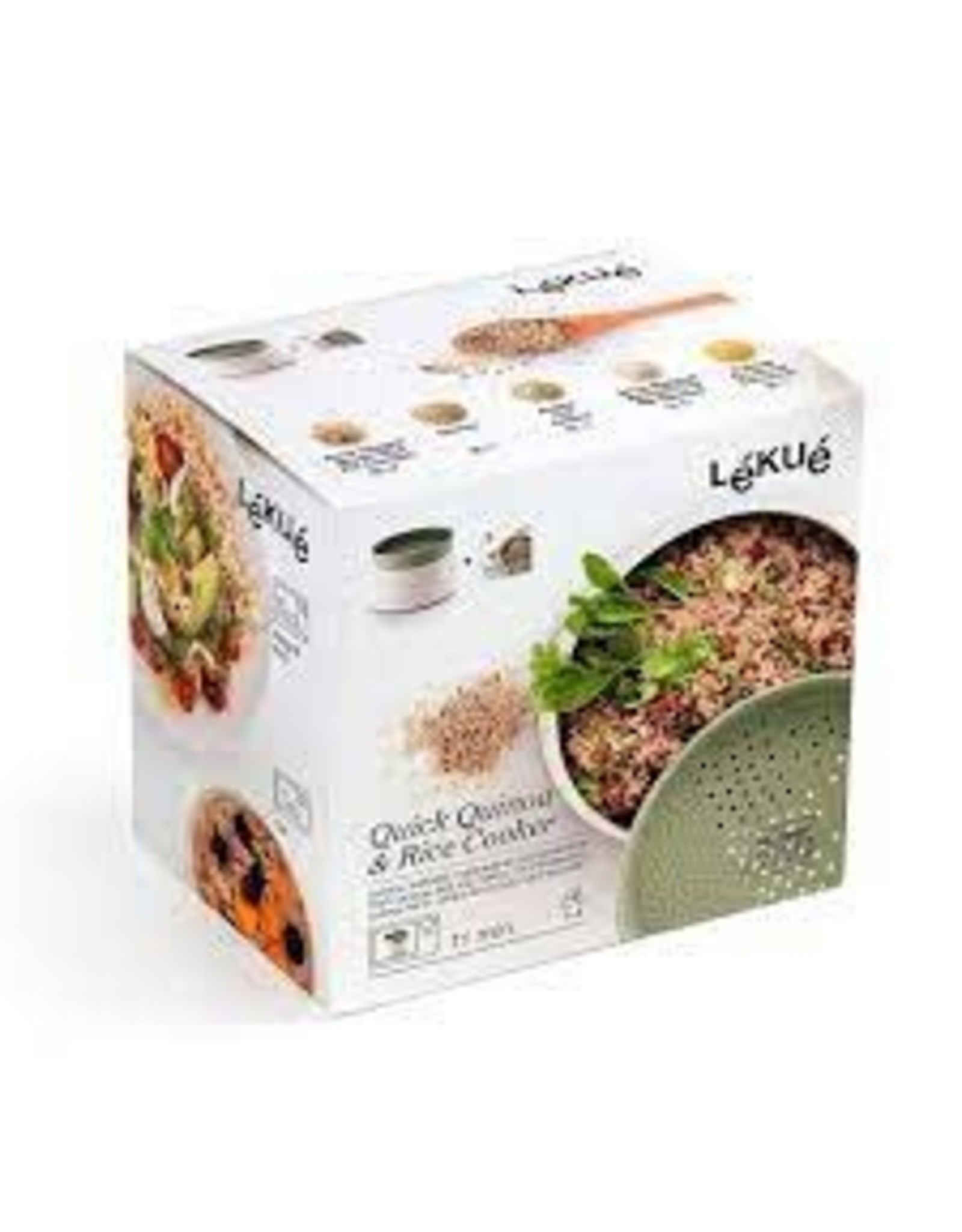 Lekue LEKUE Quick Quinoa Rice Cooker