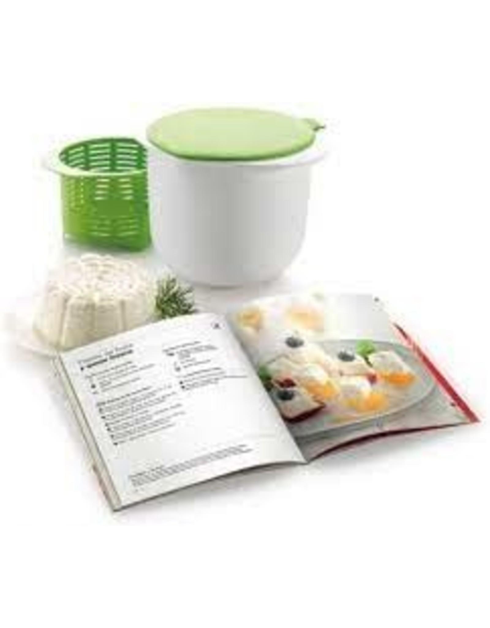Lekue LEKUE Cheese Maker Kit W/Recipe Book