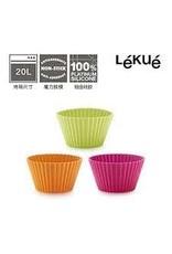 Lekue LEKUE Muffin Cups 12pc Assorted