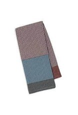 Design Imports DI Rain/Graphite/Brick Waffle Dishtowel