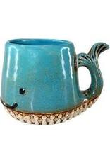 Design Imports DI Whale Ceramic Mug