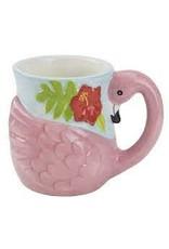 Design Imports DI Flamingo Ceremic Mug