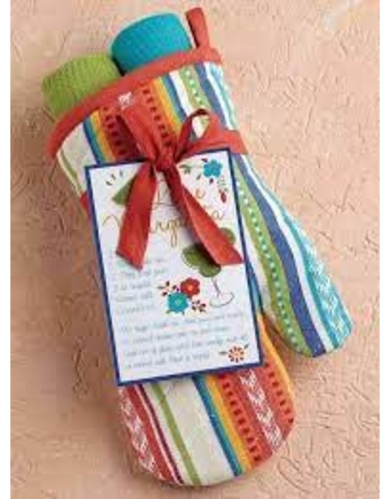 Design Imports DI Baja Cantina Oven Mitt Gift Set