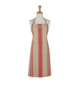 Design Imports DI Red French Stripe Apron