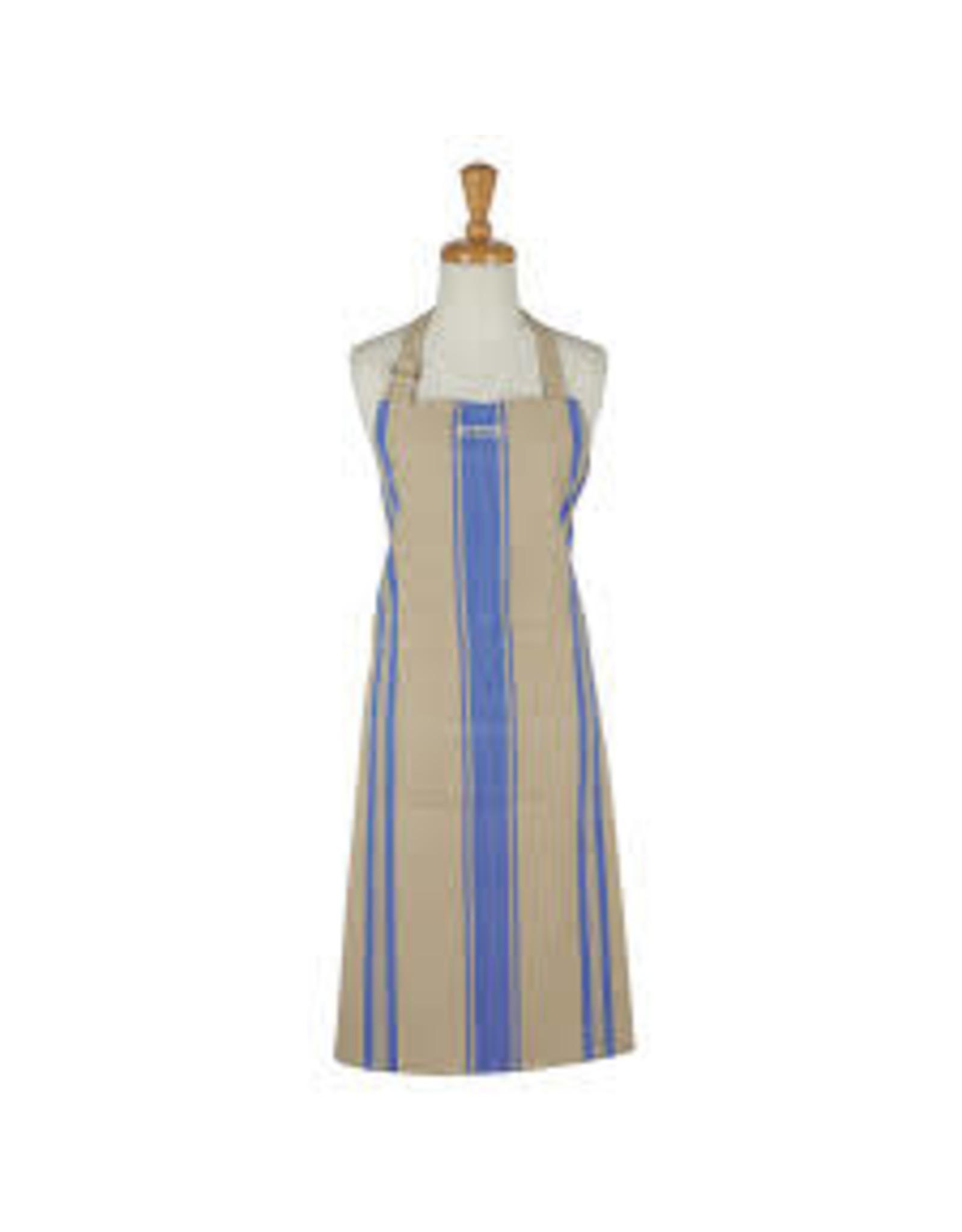 Design Imports DI French Blue Chef Stripe Apron