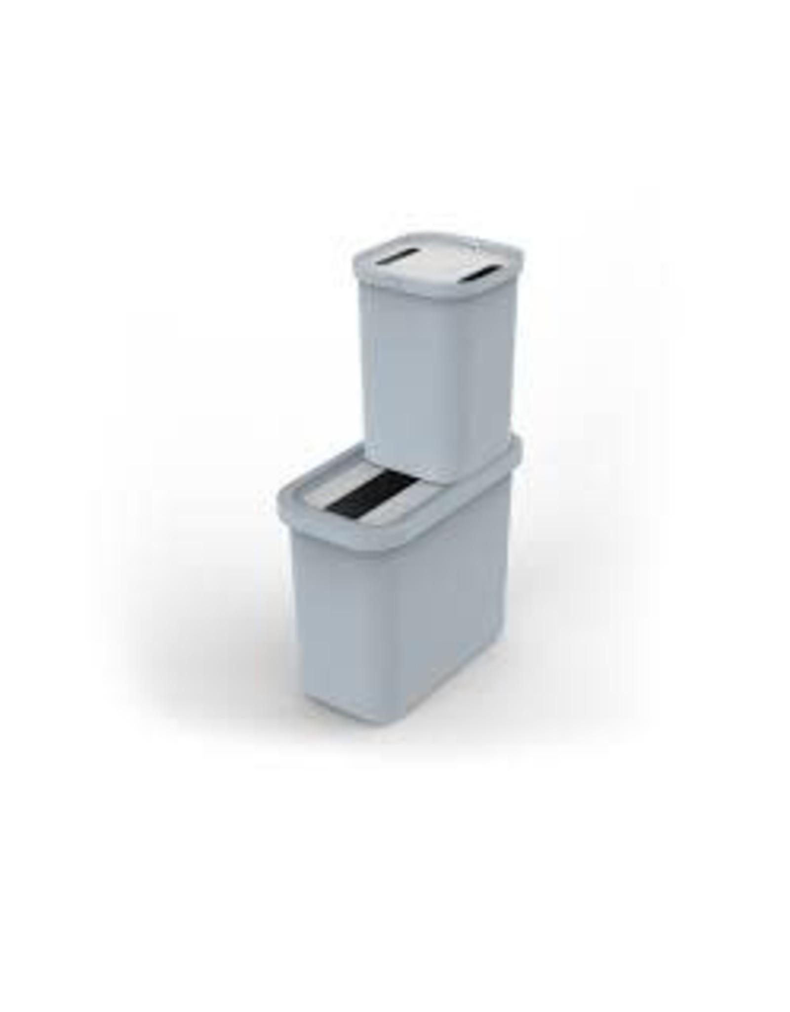 Joseph & Joseph J&J GoRecycle 46-Litre Recycling Collector & Caddy Set