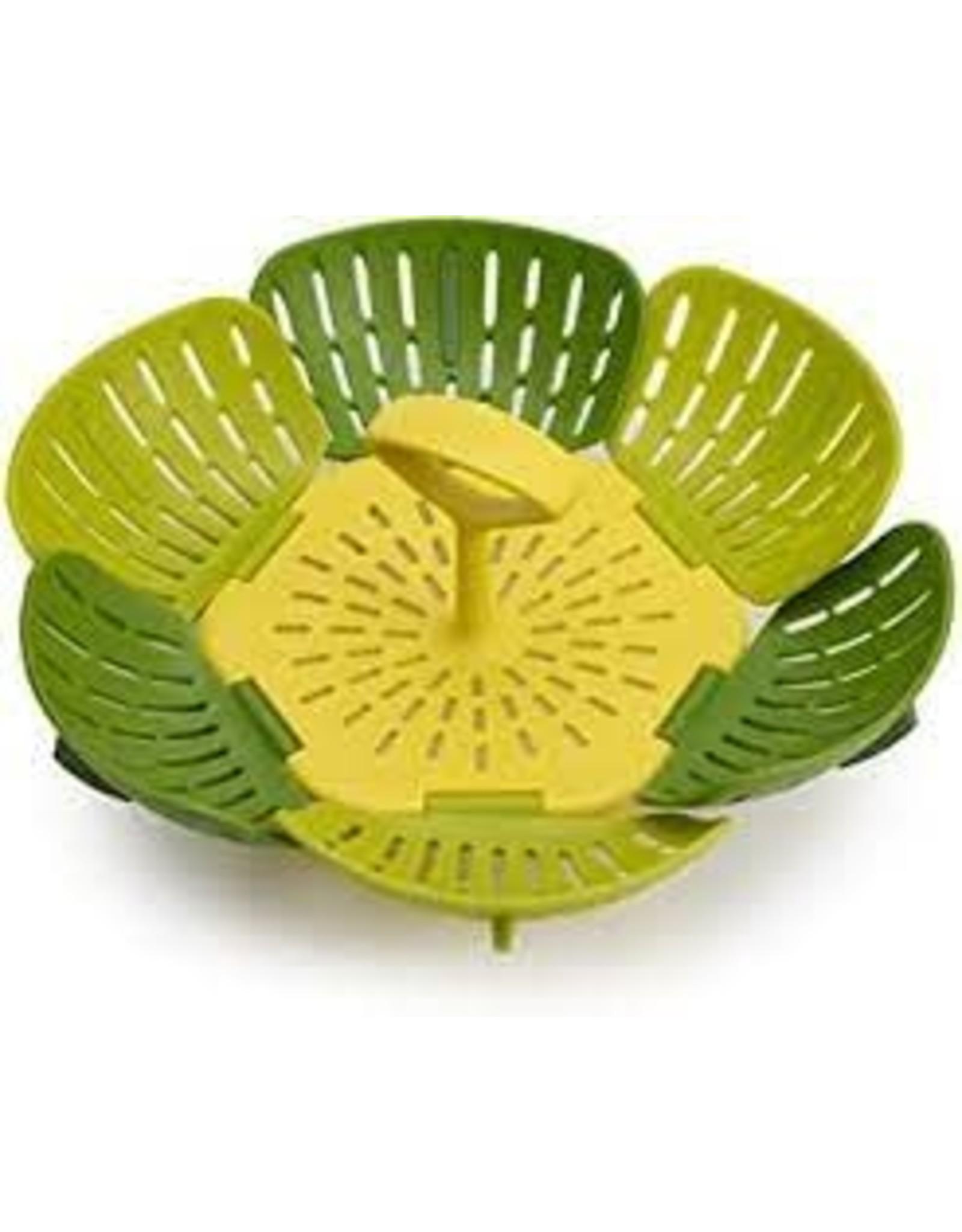 Joseph & Joseph J&J Bloom Folding Steamer Basket - Green