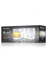 Final Touch- Crystal Sake Glasses x4