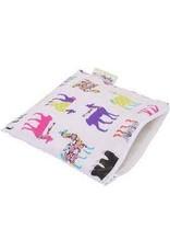 Itzy Ritzy Itzy Ritzy- Llama Glama Reusable Snack Bag
