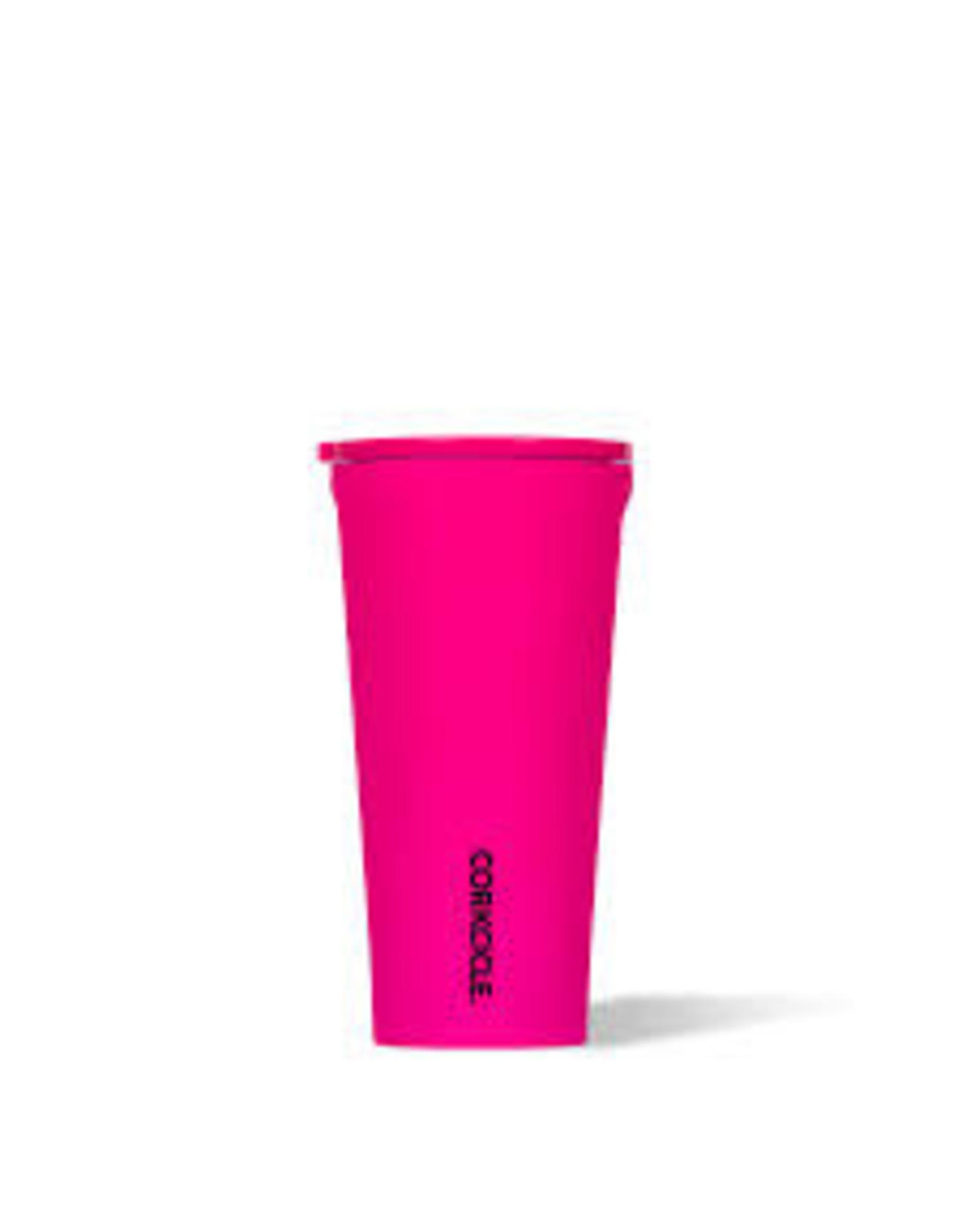 Corkcicle CORKCICLE-Tumbler - 16oz Neon Lights Neon Pink