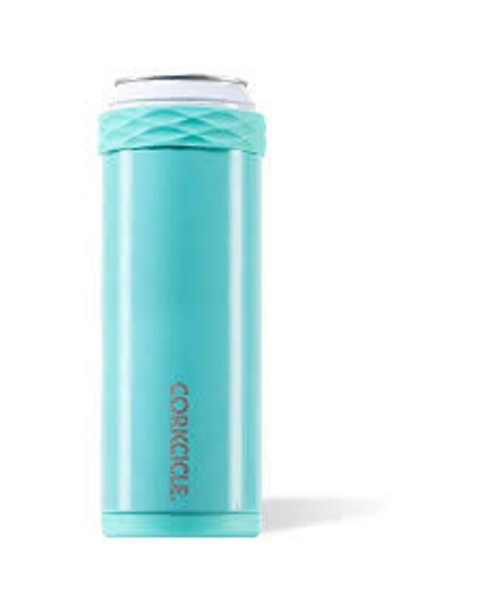 Corkcicle CORKCICLE-Slim Arctican - 12oz Gloss Turquoise