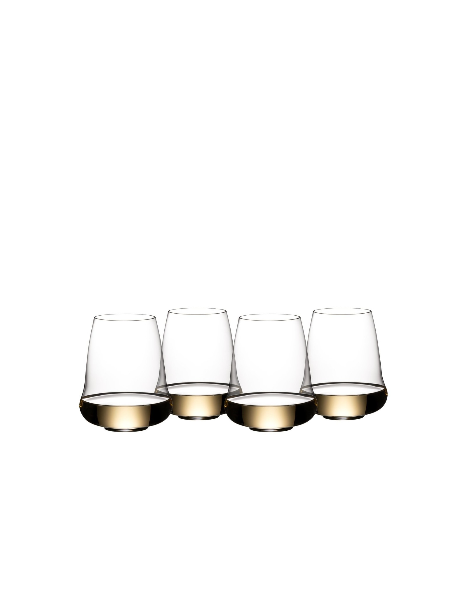 Riedel RIEDEL Stemless Wings Riesling Anniversary Setx4