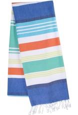 Design Imports DI Seashore Stripe Fouta Towel