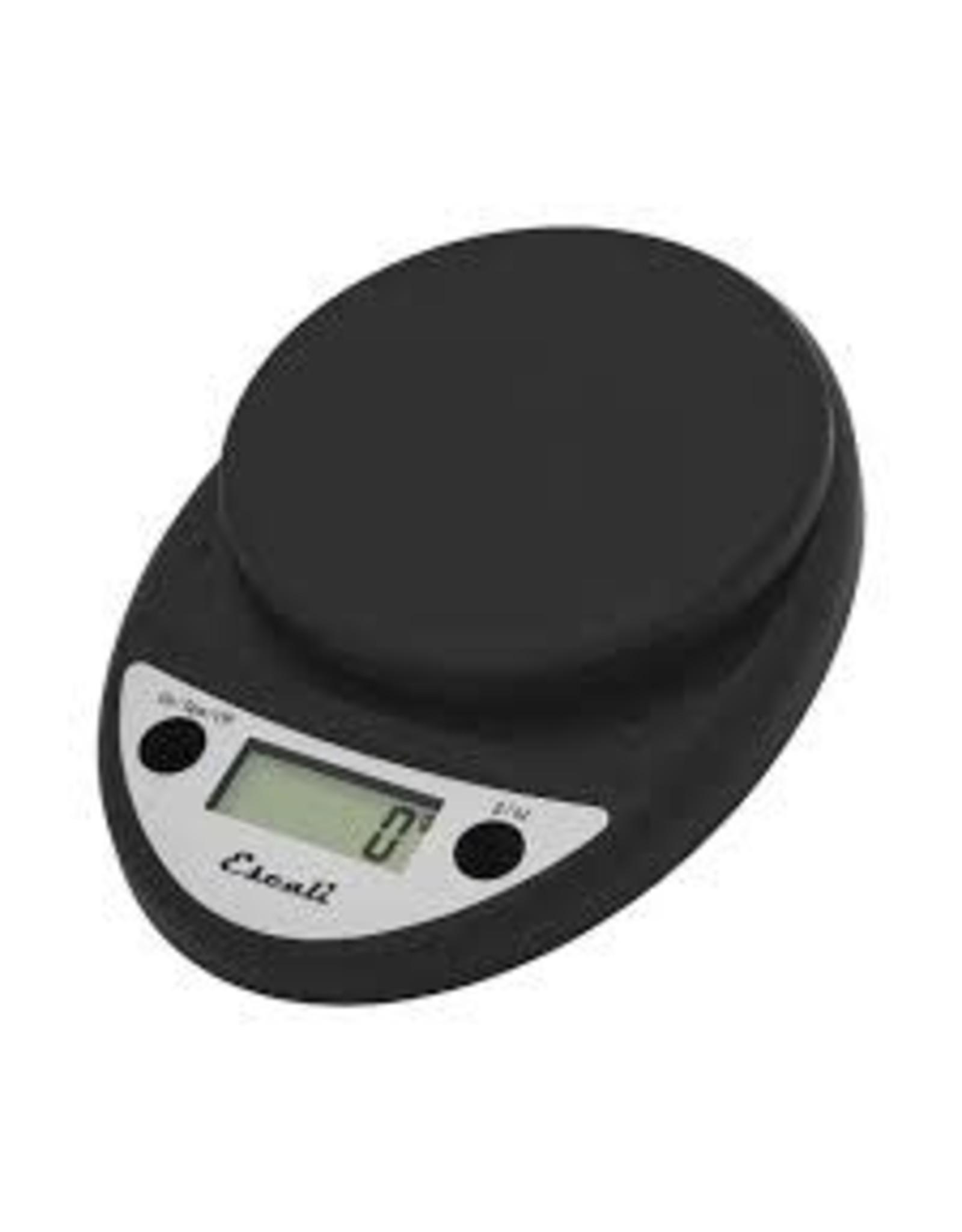 Escali ESCALI Primo Digital Scale, 11 Lb / 5 Kg, Black