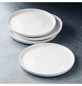 "FORTESSA Modern Coupe Salad Plate 8"" Set of 4"