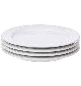 Le Creuset LE CREUSET- Set Of 4 8.5 Salad Plates White