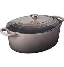 Le Creuset LE CREUSET Oval Dutch Oven - Oyster 9.5qt