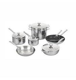 Le Creuset LE CREUSET 12pc Staintless Steel Pot Set