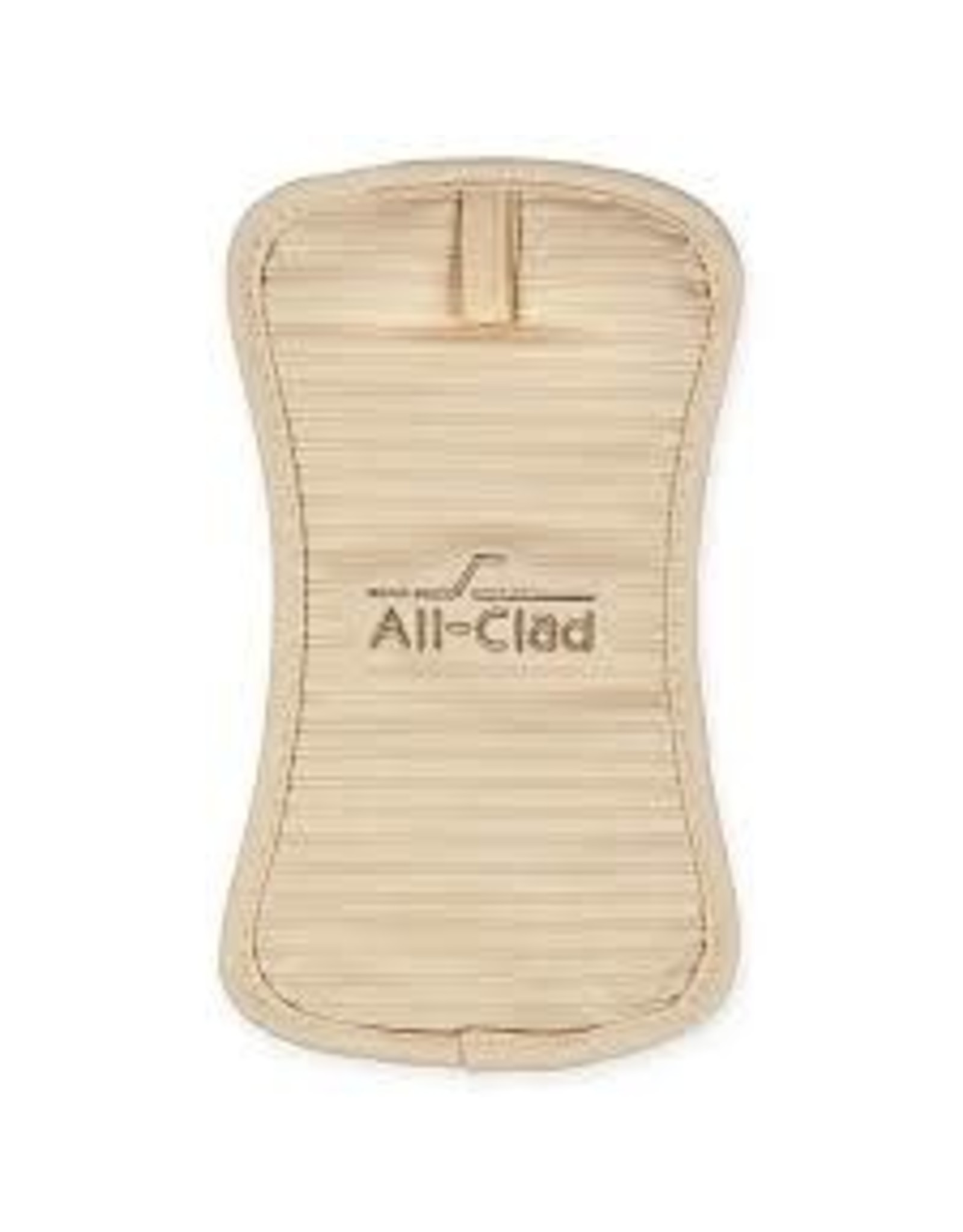 All Clad ALL CLAD-  Silicone Pot Holder Almond 6x10