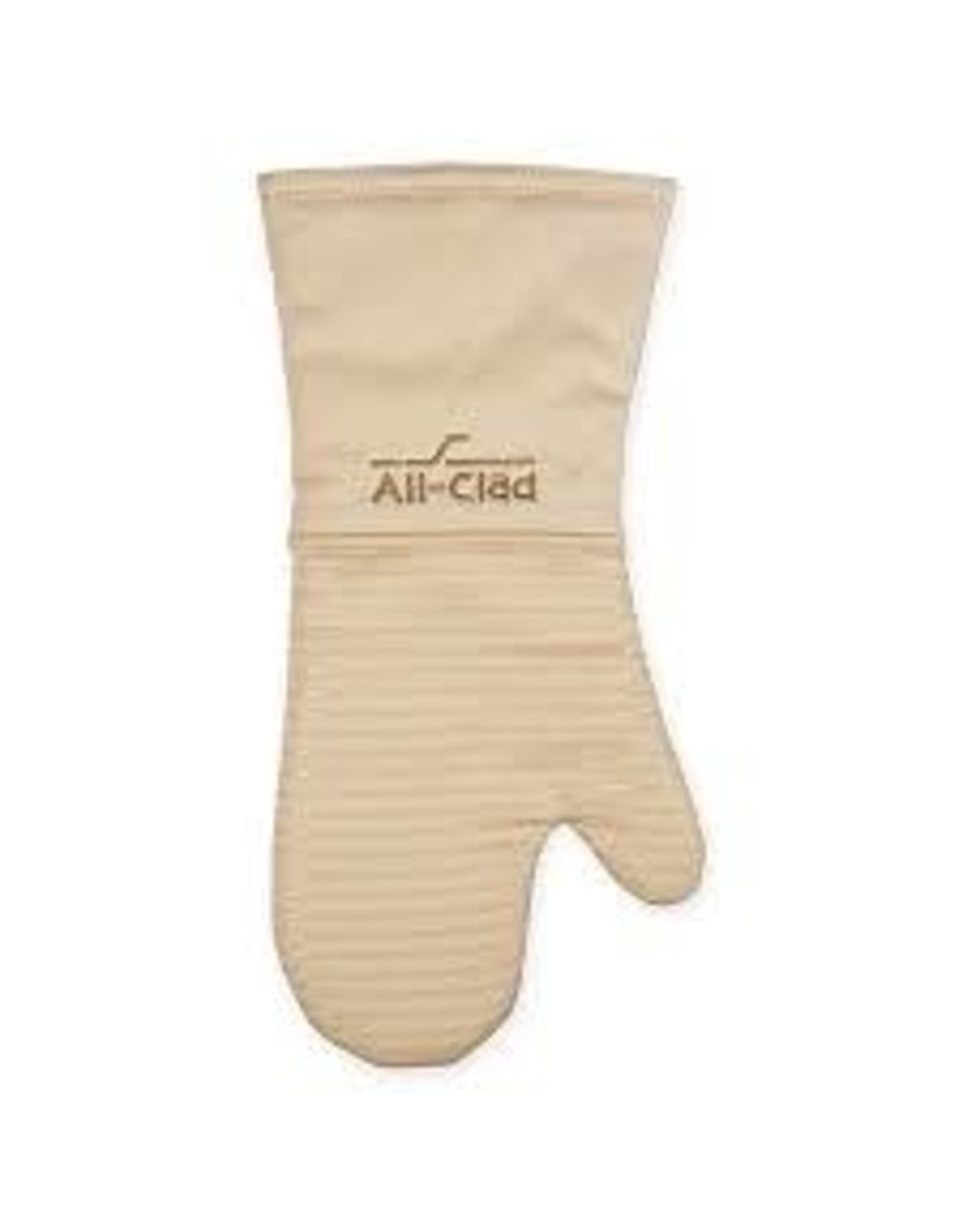 """All Clad ALL CLAD- Silicone Oven Mitt Almond 14"""""""