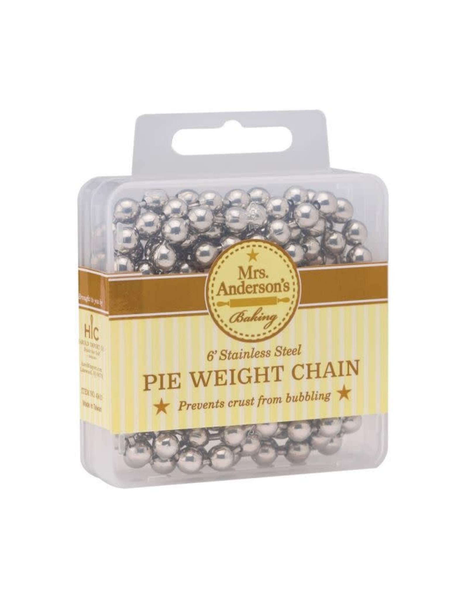 HIC- Pie Weight Chain