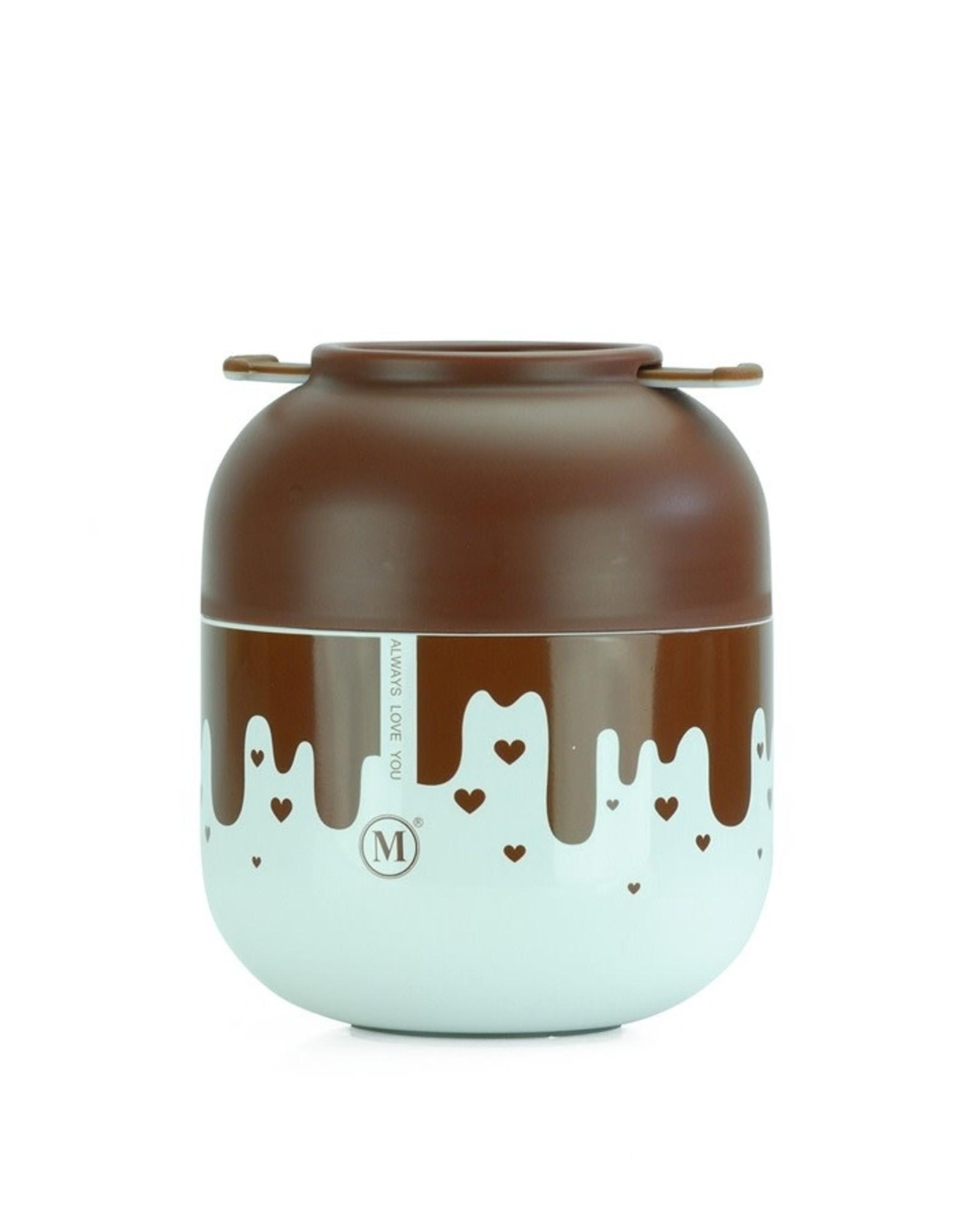 Minimal Nexten Minimal Insulated Food Jar V2 500mL - Chocolate