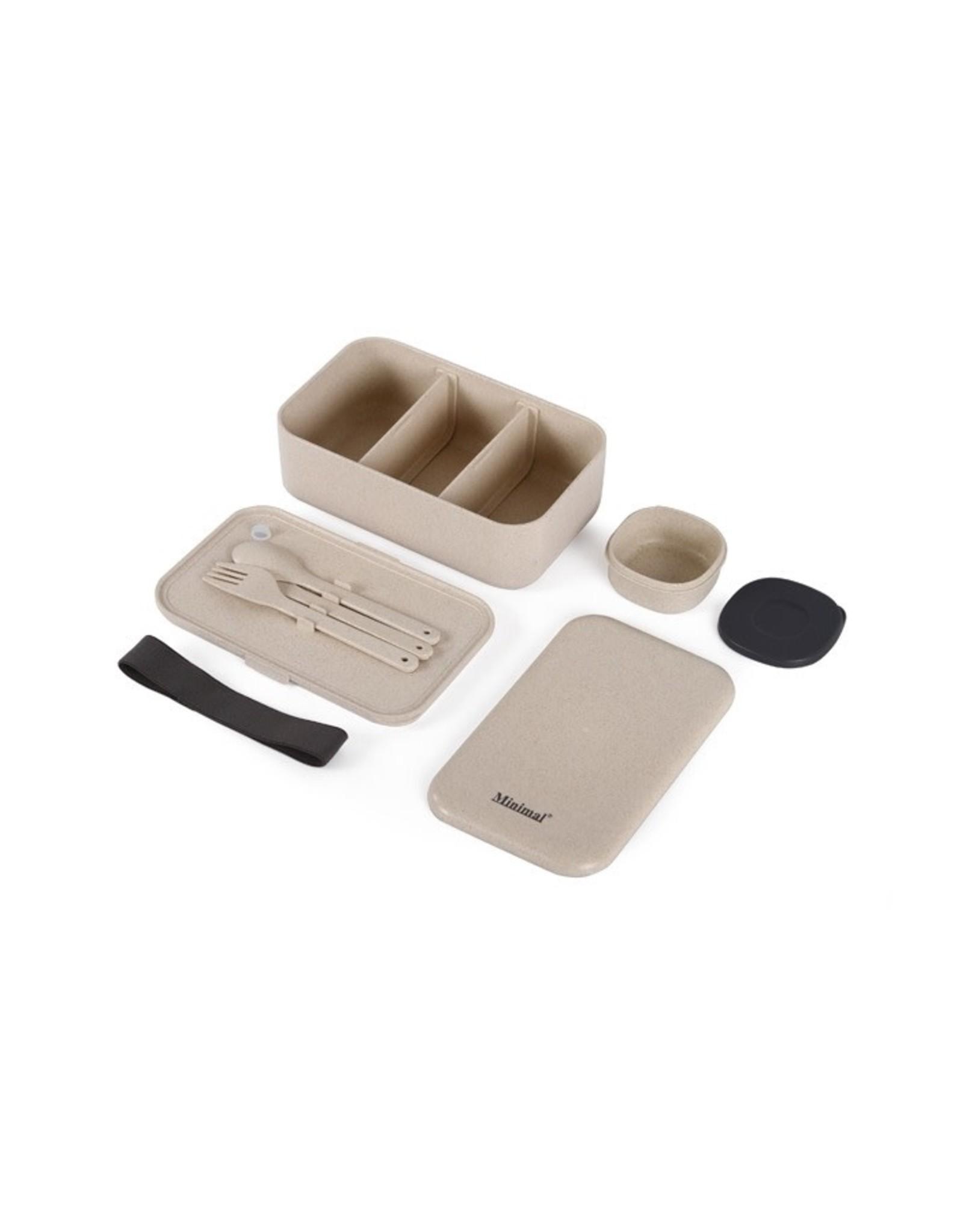Minimal Minimal Paddy Fiber Bento Box V2