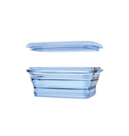 Minimal Minimal Silicone Container Collapsible 860mL  Blue