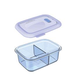 Minimal Minimal Silicone Container w/ Divider 700mL Blue